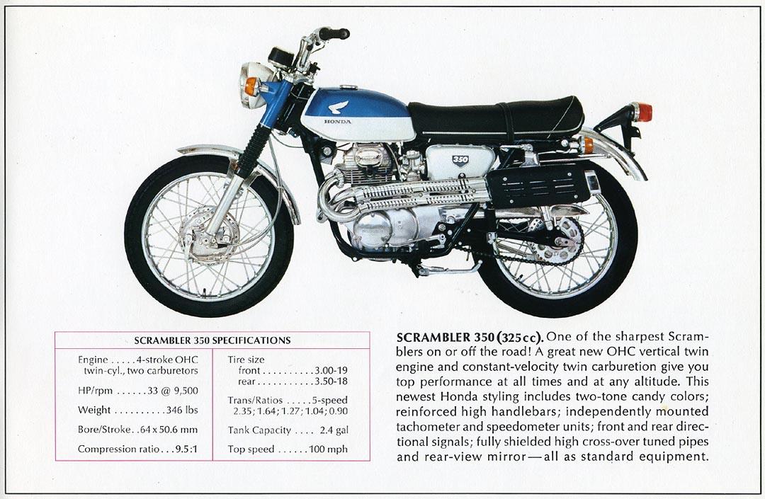 350hist on 1971 Honda Sl350